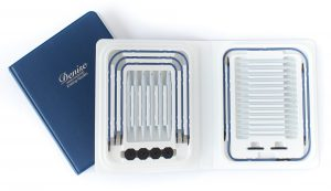 Knitting Needles Set Interchangeable Blue Denise