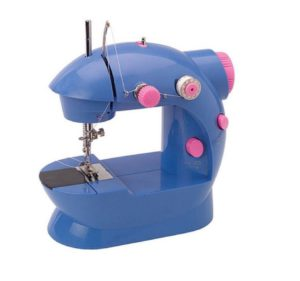 blue sewing machine for kids