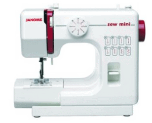 white sewing machine for children