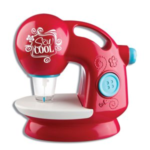 cool red sewing machine for kids