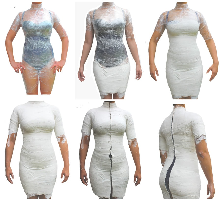 diy dress form overview