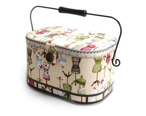 Dritz St Jane Sewing Basket Large Oval