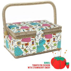 SewKit Large Sewing Basket Organizer