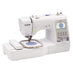 brother se600 sewing machine on white background