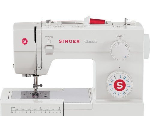 singer 44s sewing machine side view
