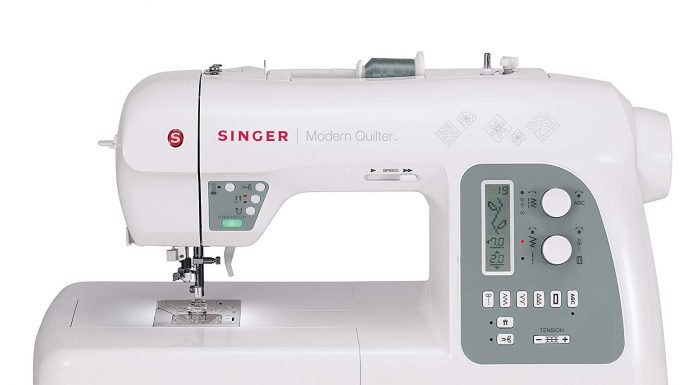 Modern Quilter Singer 8500Q Computerized Portable Sewing Machine