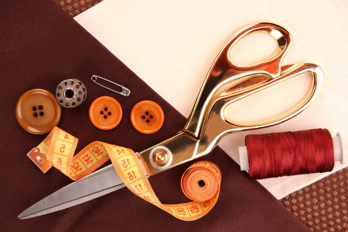 Sewing accessories and scissors